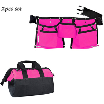 Durable Tool Belt Pouch Kids Tool Bag Set