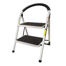 Steel wide household step folding ladder