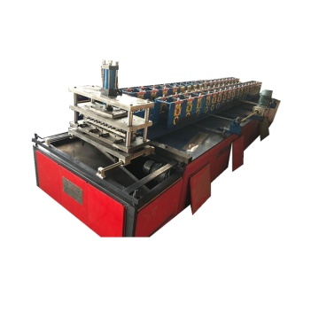 Plate metal roof panel roll forming machine