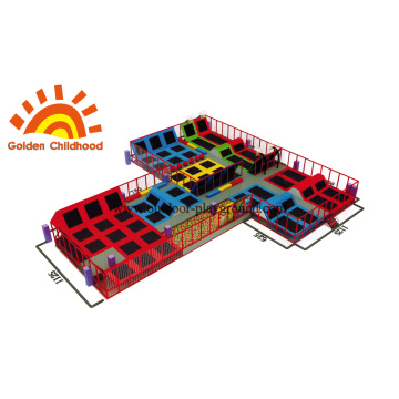 Colourful Trampoline Amusement For Kids