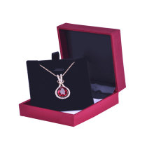 Custom Necklace Display Boxes For Jewelry Gift