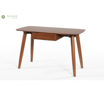 Nordic Home Writting Table with One Side Storage