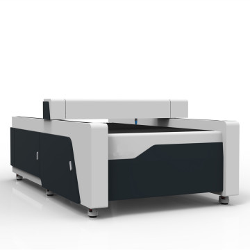 Laser cutting machine for metal sheet