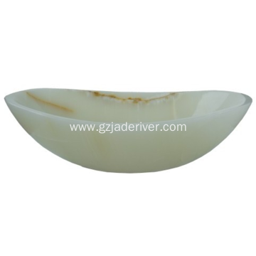White Jade Stone Basin Sink Wholesale