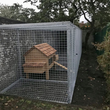 Hot Dipped Customized Fencing Dog Kennel
