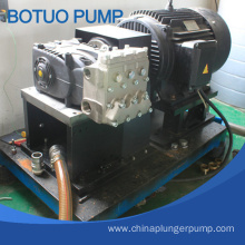 Factory directly sale for Sewer Jetting Triplex Pump Sewer Draining Pump Stable Quality Triplex Plunger Pump export to Niger Factory
