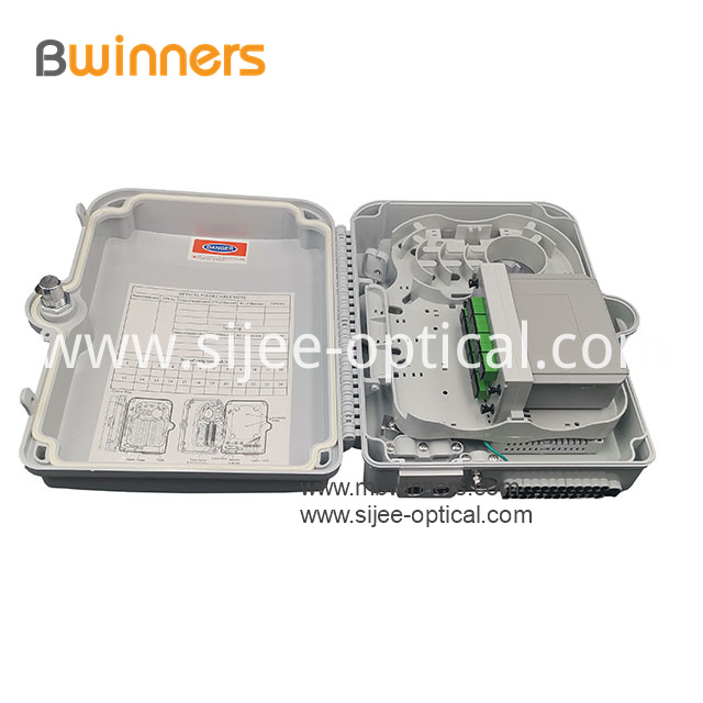 Ftth Splitter Distribution Box