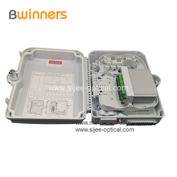 16 Ports FTTH Fiber Optic Termination Box Terminal Box