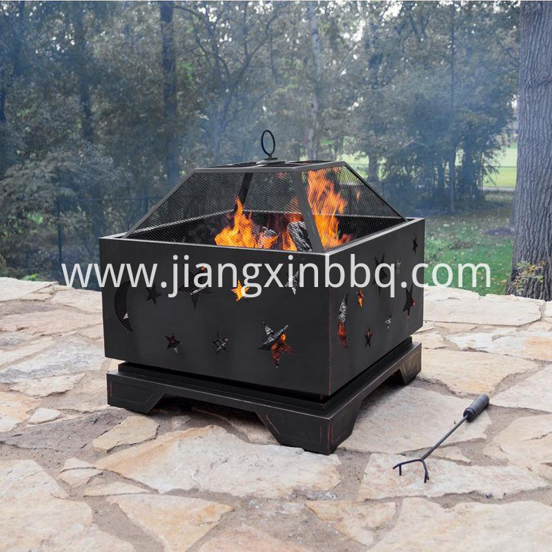 26 In Deep Bowl Steel Fire Pit In Rubbed Bronze