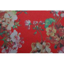 Big discounting for Pu Leather For Shoes Flower Print Pu Leather supply to South Korea Manufacturer