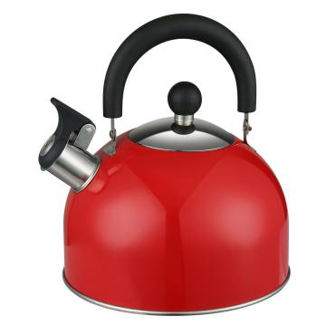 Red Whistling Kelle or Tea Pot