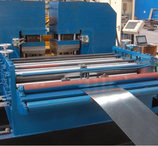 ZT-75 to 600 fully automatic cable tray rolling machine