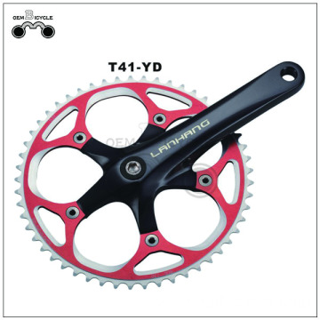 170mm forged alloy crankset single speed 52t