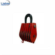 Heavy duty Pulley block series with hook 8ton