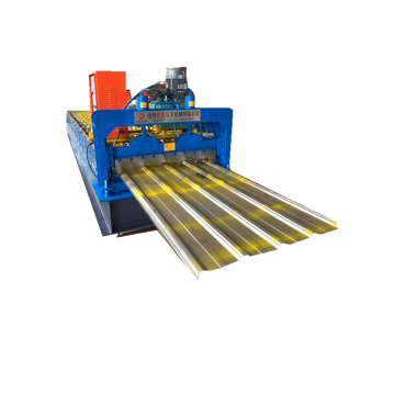single layer roof profile sheet roll forming machine