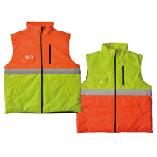 T/C Hi-vis vest with one reflective tape