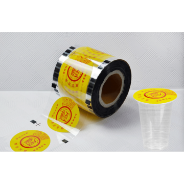 plastic cup sealing film customized