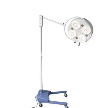 High Quality Medical Hospital Portable Flooring Standing LED Operation Lamp With 4 Reflectors
