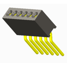 New Product for Machined Pin Header Pitch 1.27mm sip SMT Pin length 8.80mm Connectors supply to French Guiana Exporter