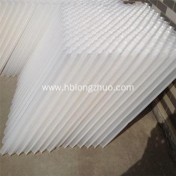 PVC trickling filter media and inclined tube settler