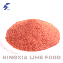 Dehydrated red bell pepper powder