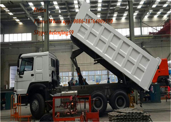 Sinotruk Howo 371hp Dumper Truck For Construction