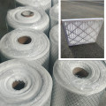 Air filtration Pleated panel attached metal mesh