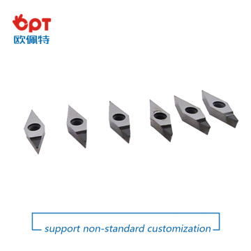 Diamond tipped PCD inserts DCGW DCGT