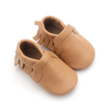 Casual Moccasins Soft Leather Baby Shoes in Buck