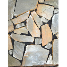 Chinese Professional for Paving Stone Mats Grey Natural Slate Paving Stone Floor Tile supply to France Manufacturers