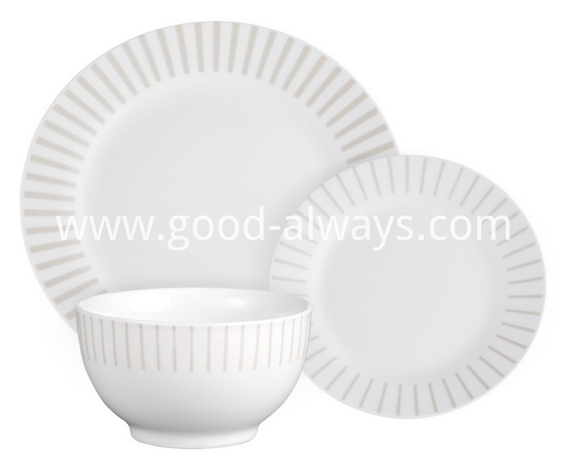 ound Porcelain Dinner Set