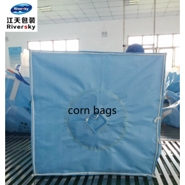 FIBC bulk bags of corn