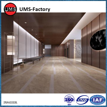Natural stone effect ceramic floor tiles