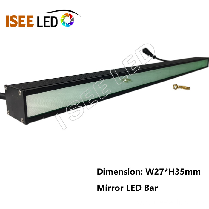 Mirror Cover LED Linear Tube RGB Bar Light