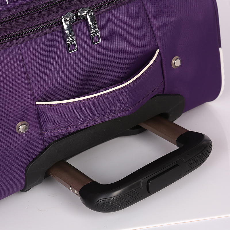 Leisure style soft rolling waterproof fabric luggage4