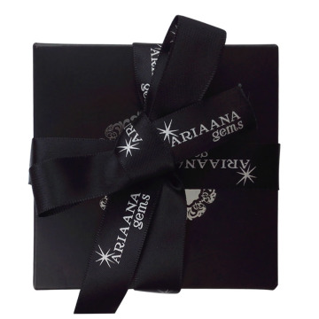 Silver Foil Simple Design Watch Paper Box