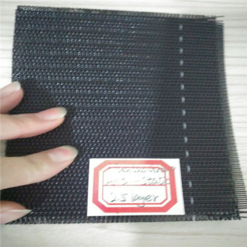 Antistatic spunbond forming belt