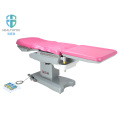 Electric operating gynecological examination table