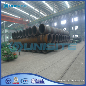 Steel round spiral pipes and fittings