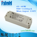 Flcker Free Triac-dimming led driver 45w 1150ma 42v