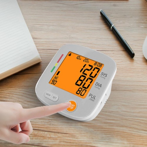 FDA Approved Bluetooth Heart Rate Blood Pressure Monitor