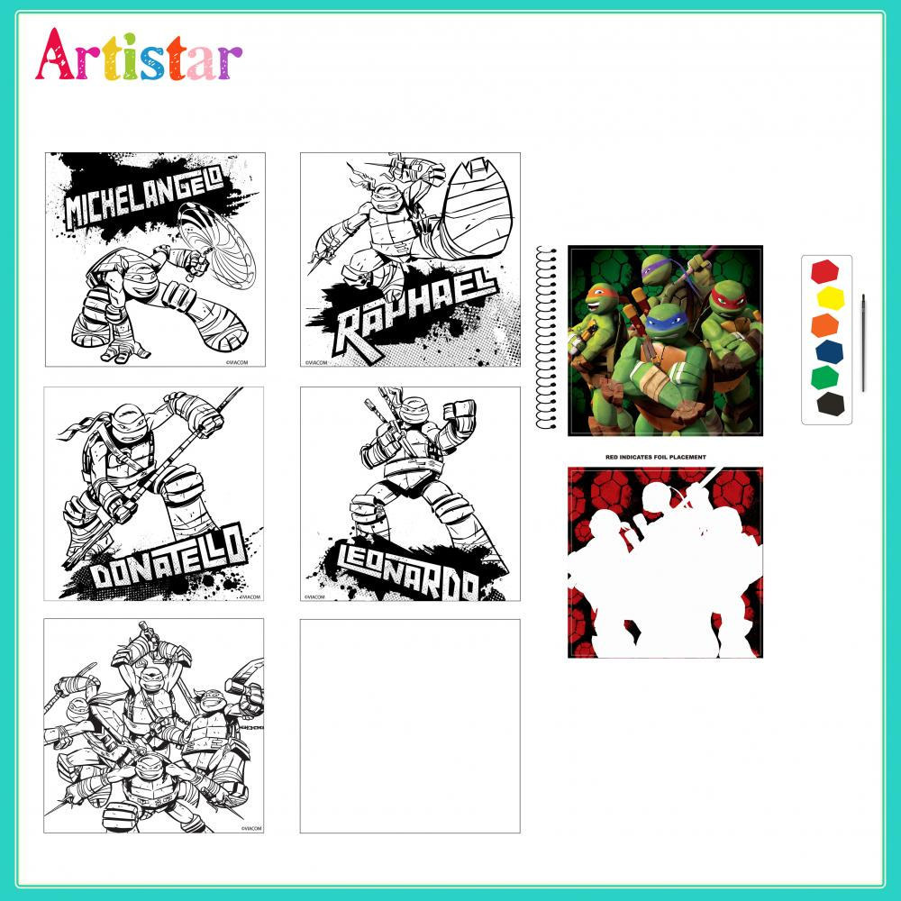 Turtles Carry Art Set 2