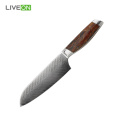 7 inch Steel Damascus Santoku Knife