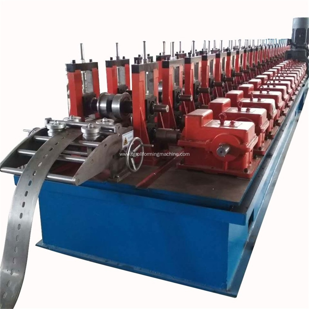 Solar Panel Mounting Bracket Roll Forming Machine
