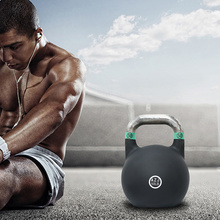 Cheapest Factory for Vinyl Coated Kettlebell Coated Bodybuilding Steel Competition Kettlebell export to Morocco Supplier