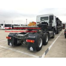 Customized for China Prime Mover,Prime Mover Truck,Howo Prime Mover Supplier SINOTRUK HOWO Tractor Truck RHD 6X4  Euro2 export to Togo Factories