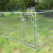 Galvanized Chain Link Boxed Kennels