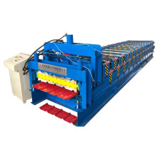 Hydraulic metal roofing double layer roll forming machine