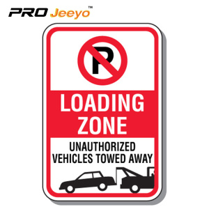 reflective no event parking aluminum sign board