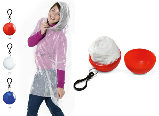 Emergency Cheap Waterproof Poncho Ball